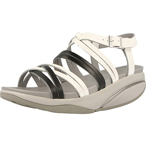 Blanc Femme Blanc Kiva W MBT Bride Sandales Arriere Y4Uqvn
