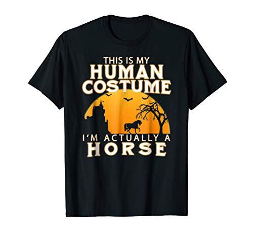 Halloween Horse T-shirt Funny Costume Idea Equestrian Shirt for $<!--$14.88-->