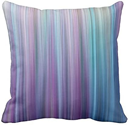 Amazon.com: okkky Abstract Purple and Teal Gradient Stripes ...