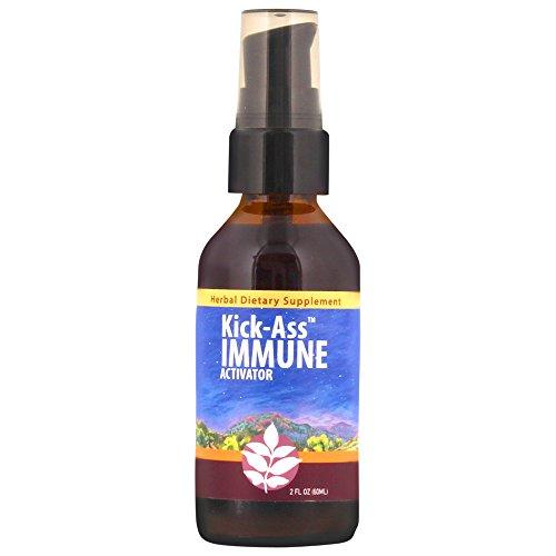 WishGarden Herbs - Kick-Ass Immune, Organic Herbal Immune Booster Promotes Healthy System Response & Resistance (2 oz - Herbs Wishgarden