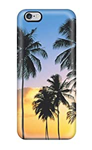 New Shockproof Protection Case Cover For Iphone 6 Plus/ Coconut Tree Case Cover