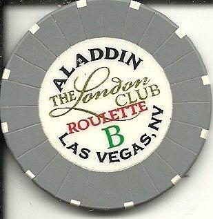 Club Roulette (aladdin the london club roulette b las vegas casino chip)