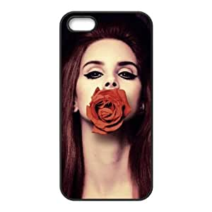 Customiz American Famous Singer Lana Del Rey Back Case for iphone 5 5S JN5S-2488
