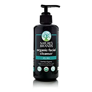 Herbal Choice Mari Organic Facial Cleanser, Dry Skin; 6.8floz