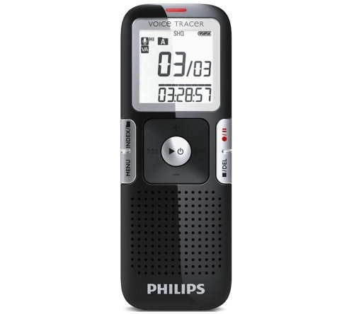 Philips USA LFH0642/27 2 GB Digital Voice Tracer with Clear Voice [並行輸入品] B075PC1K47