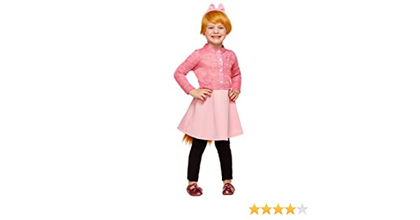 Amazon Com Spirit Halloween Toddler Brittany Costume Alvin And The Chipmunks Pink Clothing