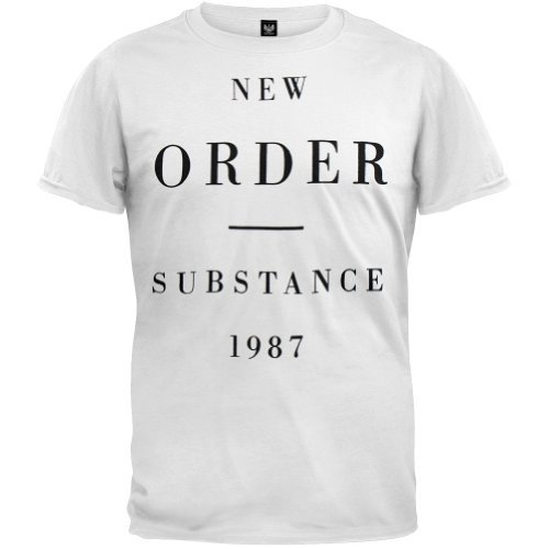 T-Shirt - New Order - Substance 1987, Medium ()