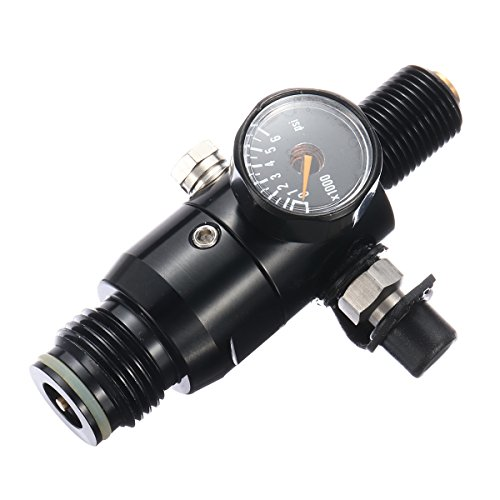 0.5L Liter Aluminum Tank Air Bottle With 4500 PSI Regulator For Paintball PCP by Ologymart (Image #4)