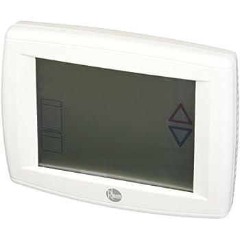 protech rhc tst412mdms rheem touchscreen thermostat programmable Rheem Thermostat Wiring Labels Rheem Thermostat Wiring 300 this item protech rhc tst412mdms rheem touchscreen thermostat