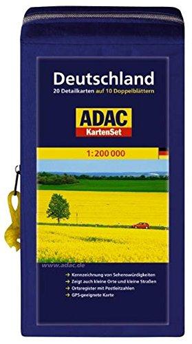 ADAC KartenSet Deutschland Blatt 1-20 in Kartentasche: 1:200.000