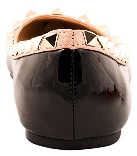 Elara - Zapatillas de casa Mujer Negro - negro