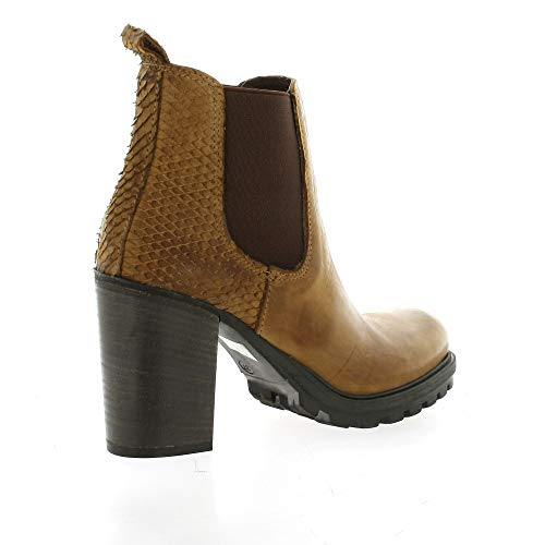 Nubuck Cognac Cuir Pao Cuir Pao Boots Boots vwgqHfxXF