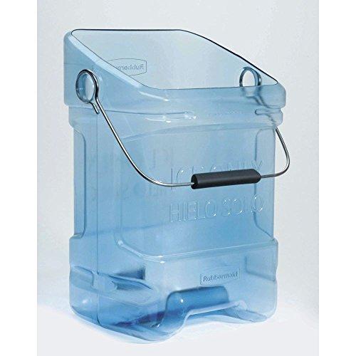 Rubbermaid ProServe Blue Plastic Ice Tote - 10 1/2 L x 13 1/4 D x 22'' H by Rubbermaid