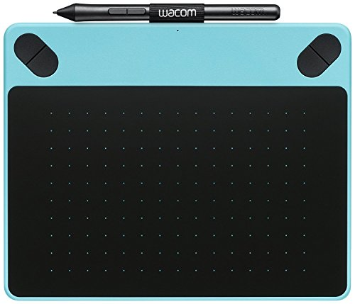 Wacom Intuos CTH-490AB-S Art Pen and Touch Graphics Tablet - Small, Blue