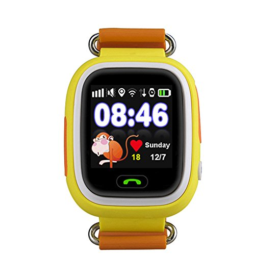 Halloween Hot Sale!!!Kacowpper Global Positioning Touch Color GPS, WiFi Quadruple Watch Child Smart Watch The Safest Guarantee for Your -