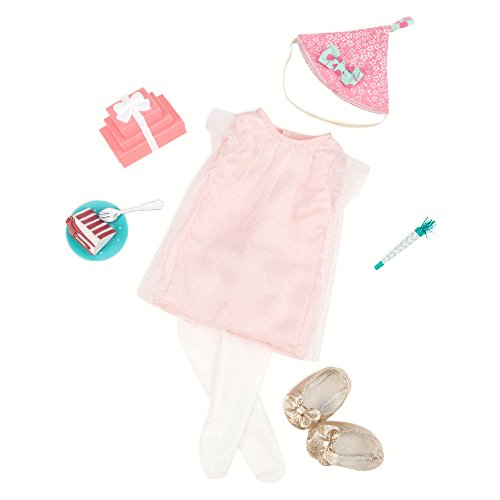 Deluxe Party Outfit - Our Generation® Birthday Surprise Deluxe Outfit
