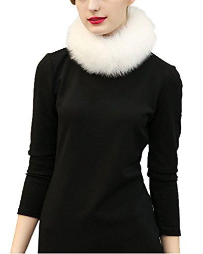 Corala Women's Winter Warm Neck fuax fur Scarf Collar Cowl Headband Neck
