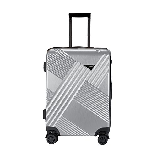 travelers-club-luggage-percey-20-inch-abs-pc-rolling-carry-on-with-8-wheel-double-spinner-silver