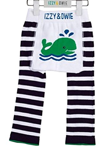 Izzy & Owie Baby Boy Leggings Whale, 6-12 Month