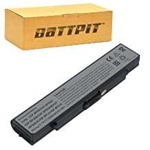 Battpit™ Laptop / Notebook Battery Replacement for Sony VAIO PCG-5K1L (4400 mAh) (Ship From Canada)