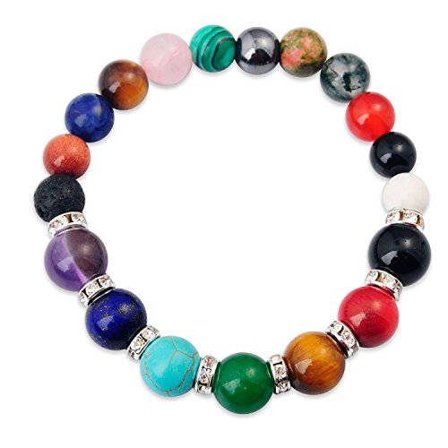 Amazon #LightningDeal 57% claimed: Joya Gift Jewelry Yoga Balancing Reiki Healing Bracelet for Women