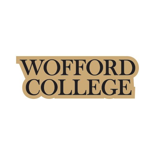 Wofford Small Magnet 'Wofford College Stacked'