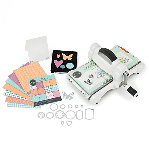 Sizzix 661500 Big Shot Starter Kit, White and Gray (US Version) ()