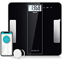 SENSSUN Bluetooth Digital Smart Body Fat Scale (2018) with iOS and Android APP