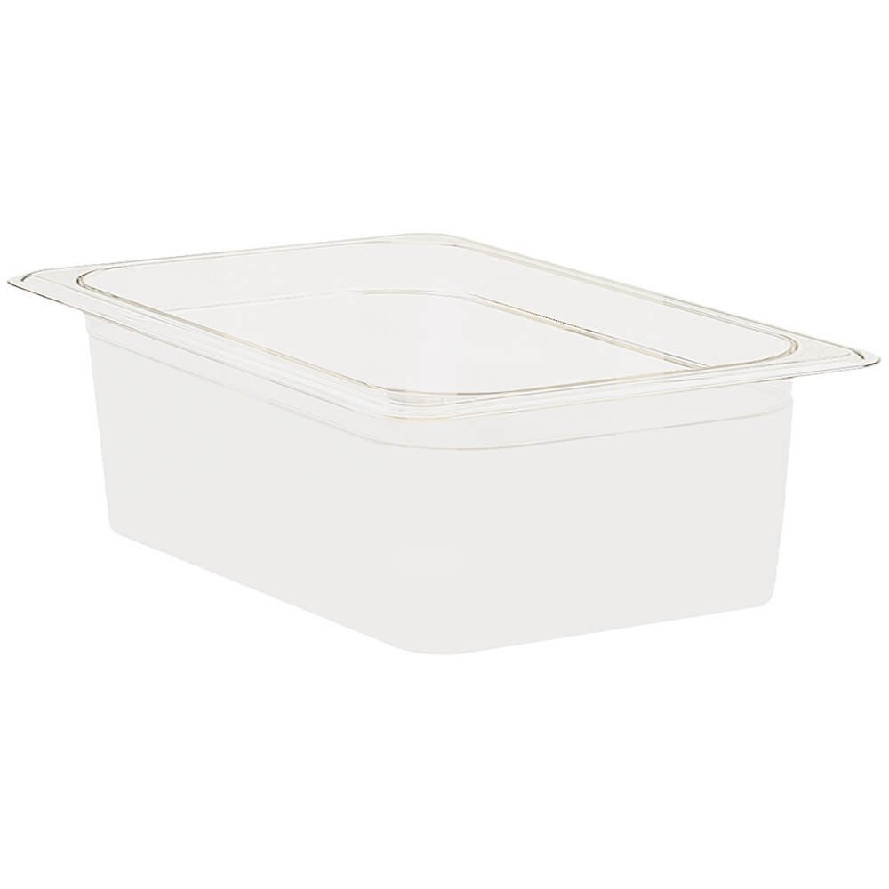 Cambro 16CW148 Camwear Food Pan plastic full-size 6''D white - Case of 6
