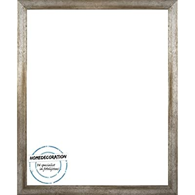 Homedecoration Cornice Misano 70 X 50 Cm Mdf Cornice In Stile Moderno 50 X 70 Cm Colore Selezionato Metallo Antico Con Vetro Sintetico Trasparente 1 Mm