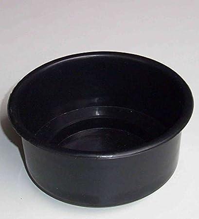 designgrab Moderne Grande cimeti/ère tombe Bol diam/ètre 34/cm en granit su/édois Black SS1/Noir Coque Pierre Tombale Granit Coque Pot Fun/éraire Tombe PO2452/Vasque