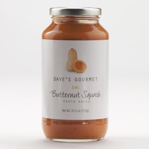 Dave's Gourmet Butternut Squash Pasta Sauce, 25.5-ounce Bottle