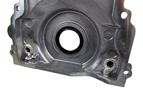 LS Gen 3 Turbo Oil Drain Return - Front Timing Chain Cover -10AN