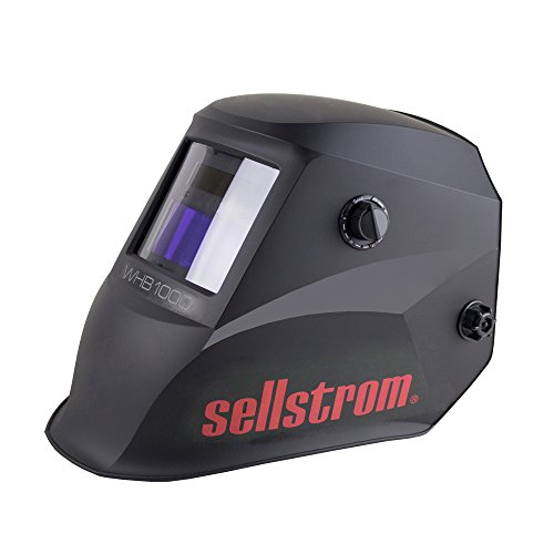Sellstrom S26100 Advantage Series Welding Helmet with ADF - Black/Red