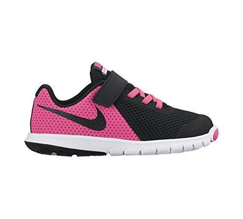 Nike Flex Experience 5 (Psv)- Scarpe da corsa da bambine, Rosa (Pink Blast / Black-White), 31 1/2 EU