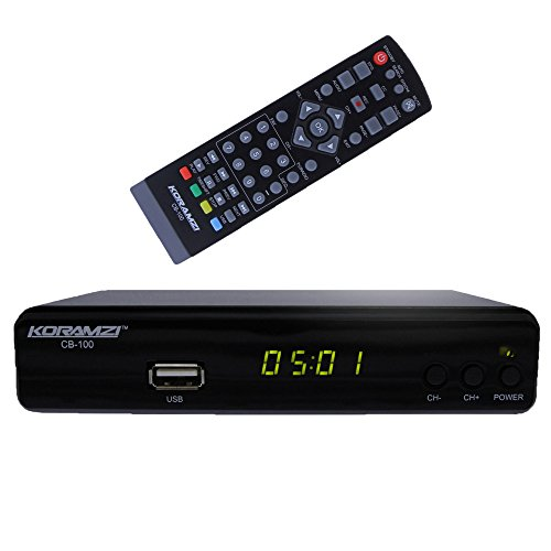 KORAMZI CB-100 HDTV Digital TV Converter Box ATSC by Koramzi