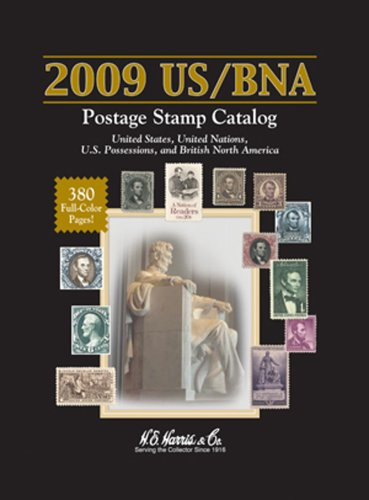2009 US / BNA Postage Stamp Catalog: United States United Nations Canada & Provinces (Cost Of Postage To Canada From Us)