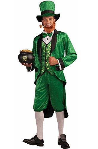Forum Mr.Leprechaun Costume, Green, Adult -