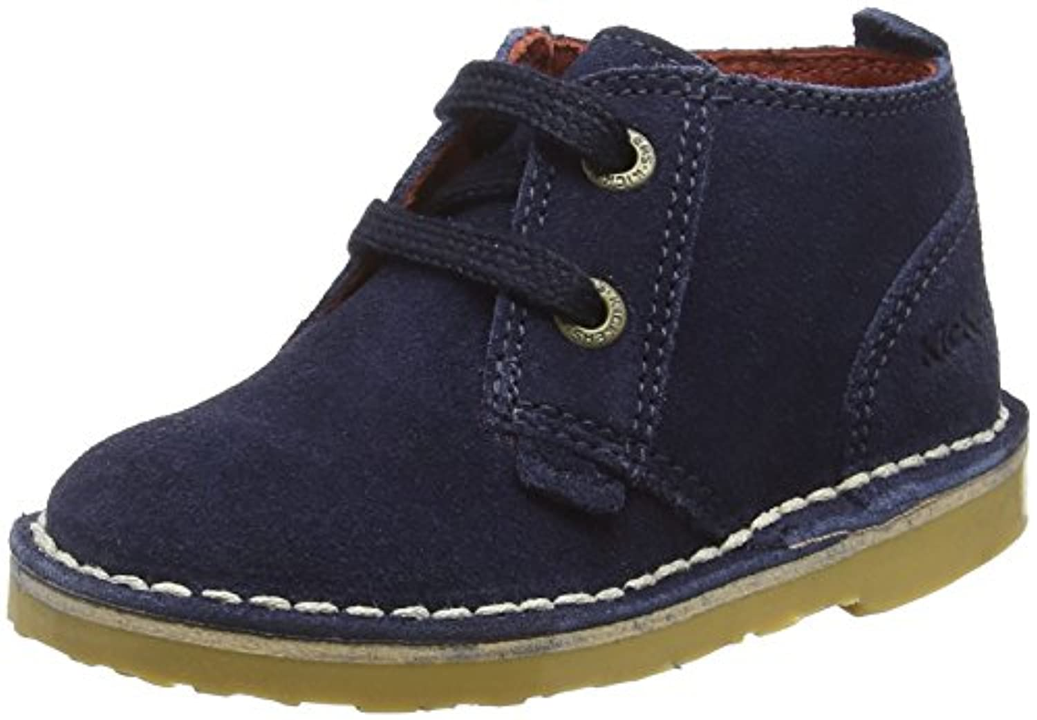 Kickers Boys' Adlar Ankle Boots, Blue (Dark Blue), 6 Child UK 23 EU