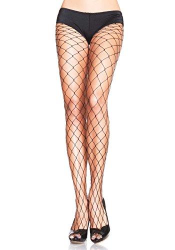 Leg Avenue Women's Fence Net Pantyhose, Black, One Size