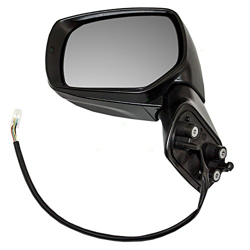 Drivers Power Side View Mirror Ready-to-Paint Replacement for Subaru SUV 91036SG001 91059AJ210 (Subaru Forester Driver Mirror)