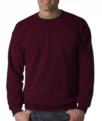 Gildan Men's Heavy Blend Crewneck Sweatshirt - X-Large - Maroon