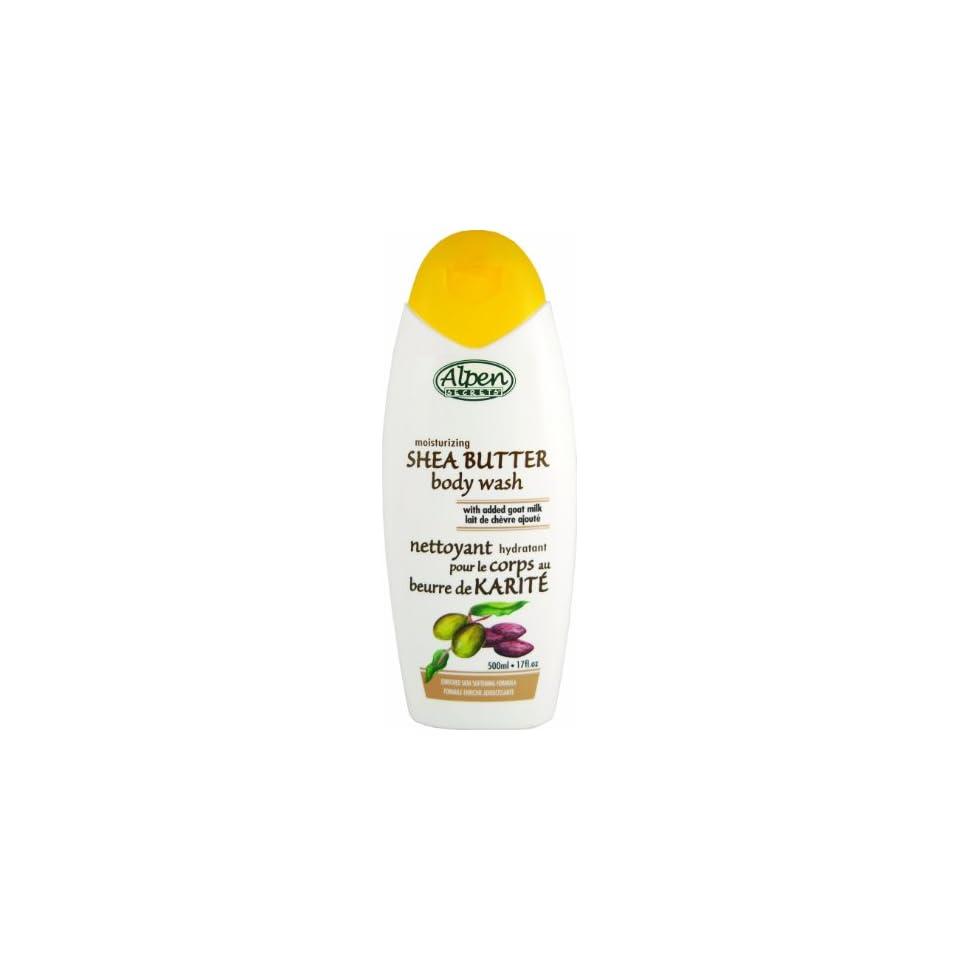 Secrets Shea Butter Body Wash, 17 Ounces Bottles (Pack of 6) Beauty