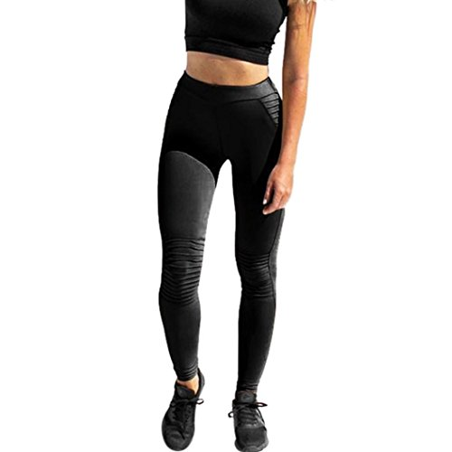 fa90f0bb4 Galleon - 2018 Hot Sale Shybuy Womens Women's Fashion Workout Leggings  Fitness Sports Gym Running Yoga Athletic Pants (S, Black)