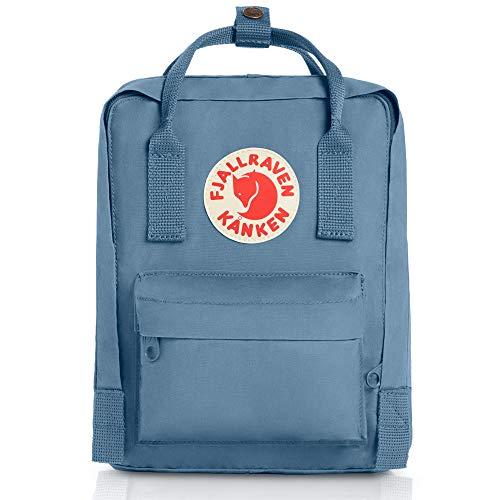 Fjallraven - Kanken-Mini Classic Pack, Heritage and Responsibility Since 1960, Blue Ridge, One ()