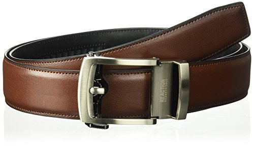 Kenneth Cole REACTION Men's 1.3 in. Wide Click To Fit Belt