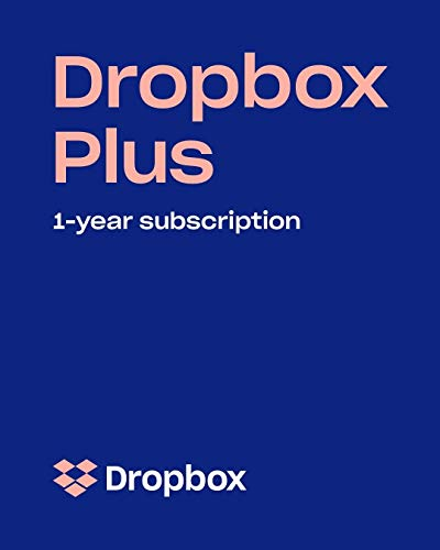 Dropbox Plus - 1 TB of Storage for 1 Year (Upgrade from Dropbox Basic 2 GB) [Online Code]