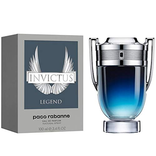 Paco Rabanne Invictus Legend EDP Eau De Parfum For Men 3.4oz