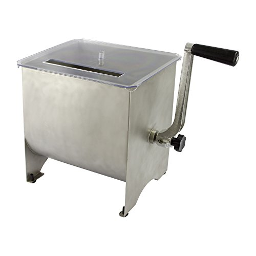 Chard MM-102 Meat Mixer with Stainless Steel Hopper, 20 lbs. by Chard