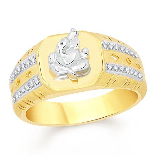 0b5233c8f82f6 VK Jewels Gold Plated Ganesha Ring for Men - VKFR2441G